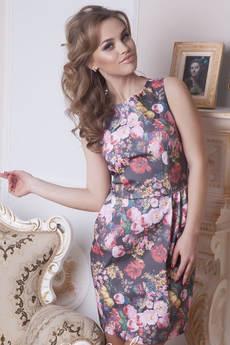 Платье из хлопка Open-Style