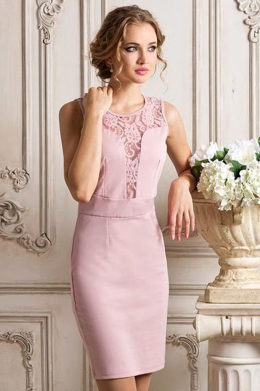 04c6f74c0ec2e7 Вечернее платье цвета пыльной розы VIAGGIO арт. 6613 купить в  интернет-магазине KOKETTE