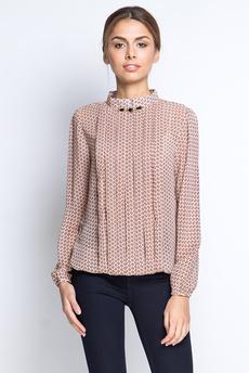 ХИТ продаж: Шифоновая блузка со складками Marimay.