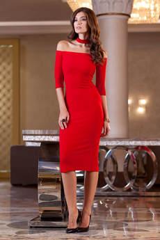 Платье с чокером RUXARA
