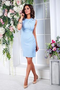 Нежное летнее платье с драпировками на лифе Angela Ricci