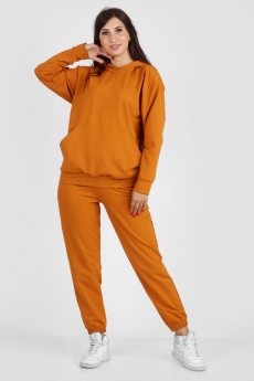 Женский спортивный костюм горчичного цвета Милана