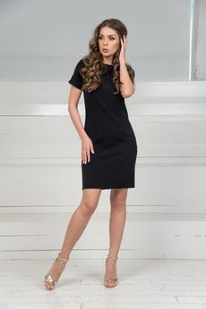 f25a8f9f57a Короткое красное платье с короткими рукавами Mondigo арт. 7887 ...
