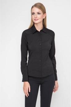 Черная классическая блузка Marimay