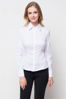 Белая классическая блузка Marimay
