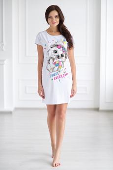 Женская домашняя футболка Шарлиз