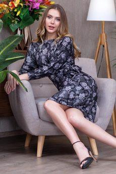 Новинка: красивое платье с поясом RUXARA