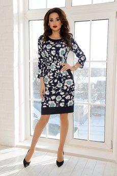 Трикотажное платье с карманами Open-Style