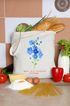 Эко сумка — шоппер Натали