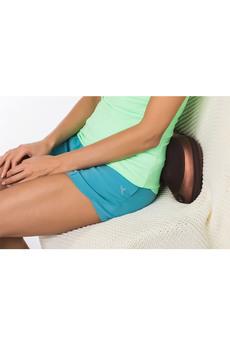 Новинка: массажная подушка «шея, плечи, спина», коричневая Bradex