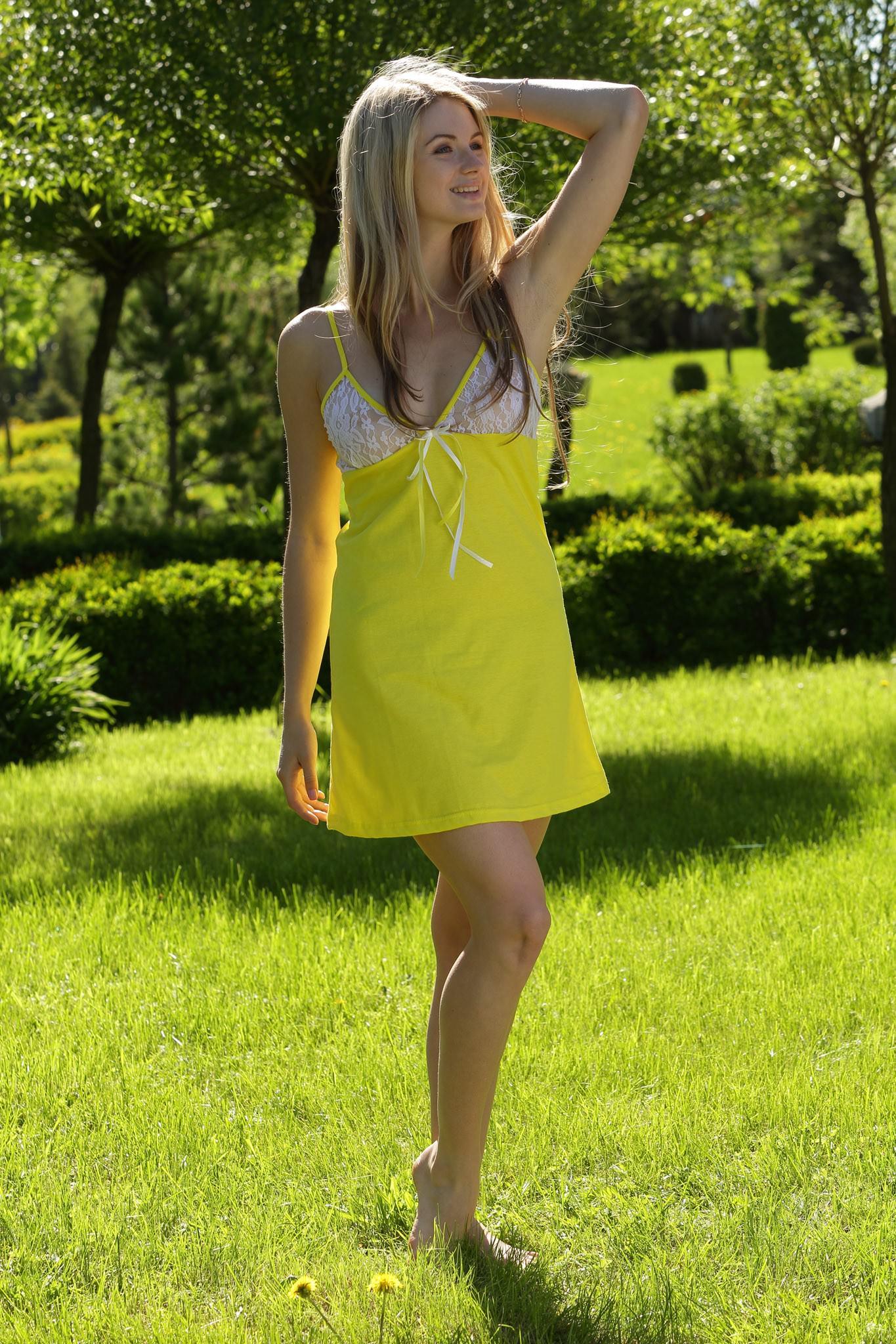 Сорочка с кружевными чашечками FIORITA арт. 7129 купить в ... - photo#37