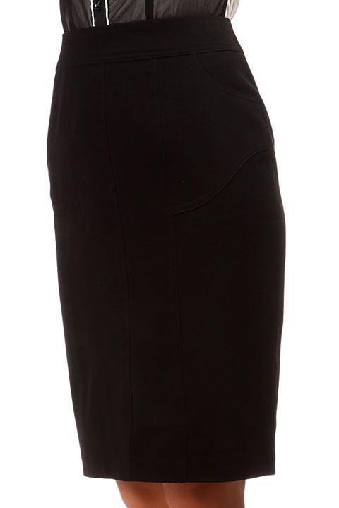 cf08ff70df9 Черная юбка карандаш для офиса Mondigo арт. 6421 купить в интернет ...